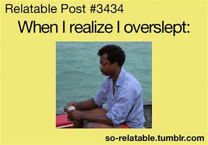 Relatable Funny Overslept Posts Quotes Teen Gifs