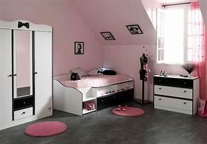 Chambre Pour Ado : chambre ado fille 15 ans moderne ~ Farleysfitness.com Idées de Décoration