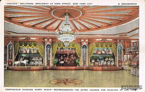 deco society new york 1930s new york city ny arcadia ballroom interior deco linen postcard manhattan jpg 1 324 215 847