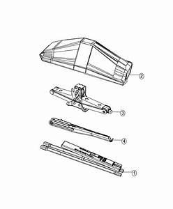 2014 Dodge Grand Caravan Jack  Scissors   Tbt  Or  Compact