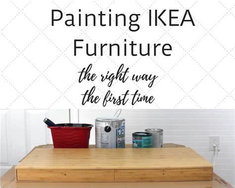 Can You Paint Ikea Furniture by Can You Paint Ikea Furniture