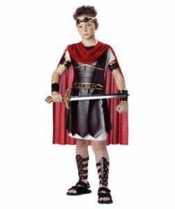 Greek Hercules Kids Costume - Boys Greek Costumes