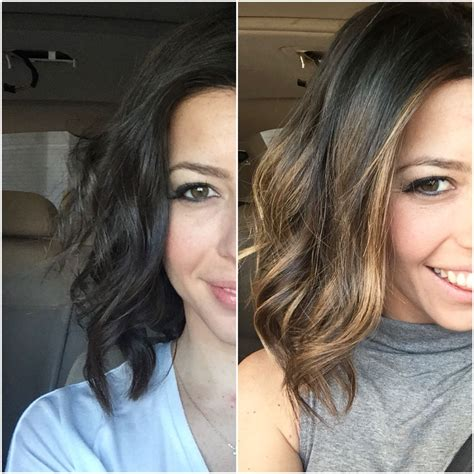 Sun In Brown Hair by Went From Brown Hair To A Sun Kissed Balayage