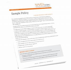 Anti Discrimination Policy Template Global Anti Harassment Bullying Sample Policy NAVEX Global
