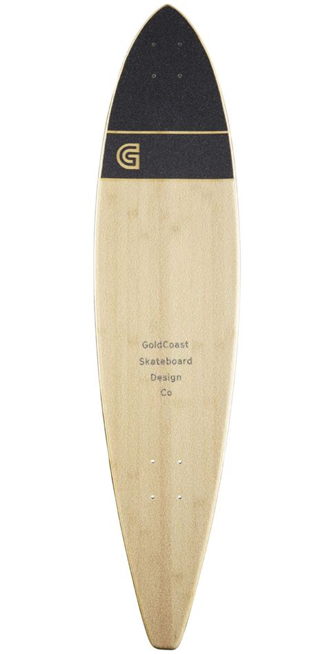 Pintail Longboard Deck Only by Goldcoast Addax 36 Quot Pintail Longboard Deck