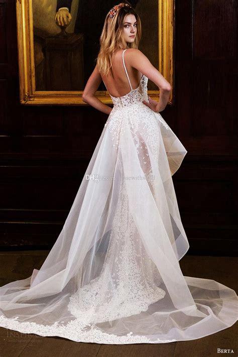 berta bridal wedding dresses detachable  skirt