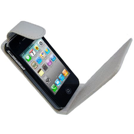 iphone 4s accessories iphone 4s 4 leather style flip white