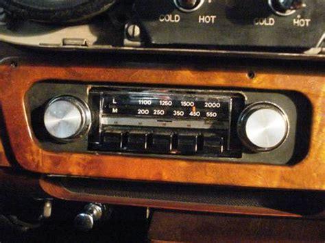 Rolls Royce/bentley Car Radio Maker?