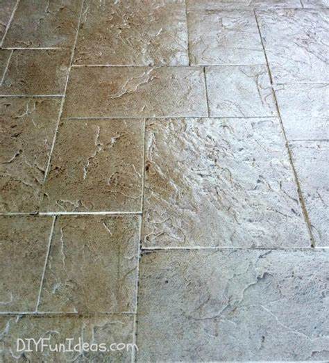 gorgeous diy sted concrete tile driveway for less