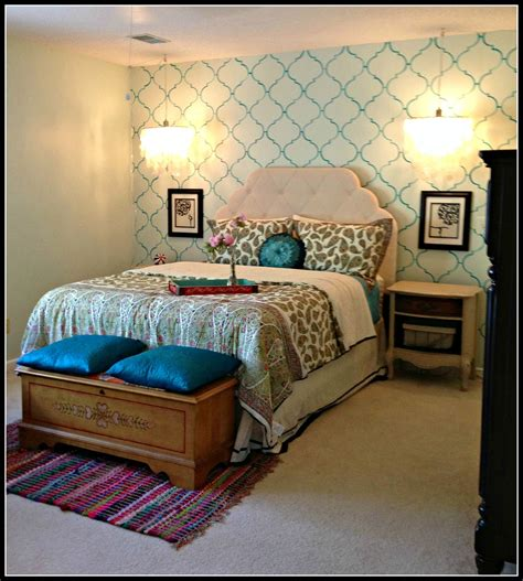 Travel Themed Bedroom For Seasoned Explorers by Mint Green Headboard After This Is Bedroom After