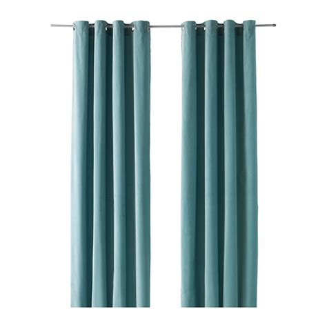 Ikea Sanela Curtains Turquoise by Sanela Curtains 1 Pair 55x118 Quot Ikea