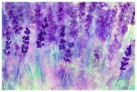 lavender paint colors watercolor painting lavender