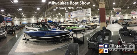 Boat Show Milwaukee by Centerpointe At The Milwaukee Boat Show Centerpointe