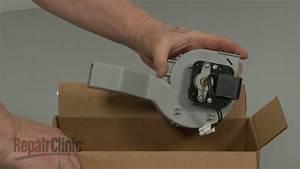 Frigidaire Dishwasher Replace Fan Motor Assembly  5304475613
