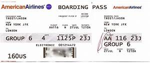 The gallery for --> American Airlines Boarding Pass