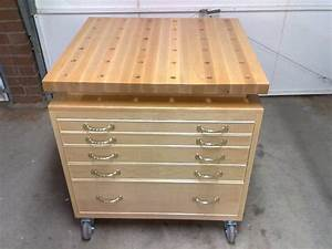 Mobile Tool Chest & Work Bench, Table Saw Extension