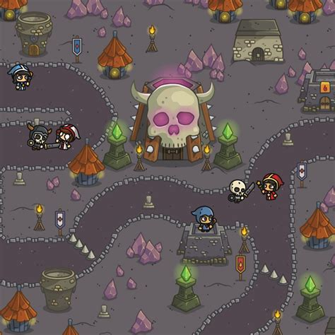 Dungeon Top Down Game Platformer 2d Tower Defense Game