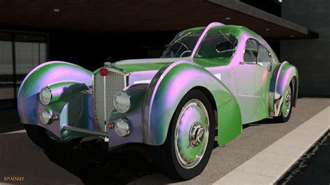 1936 Bugatti Type 57sc Atlantic By Spad007 Daz|studio