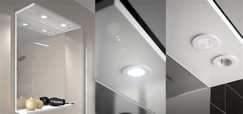 rampe led salle de bain finest applique de salle de bain