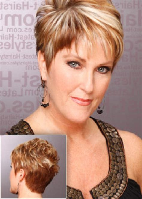 Short Hairstyles: Short Hairstyles Over 40 Round Face