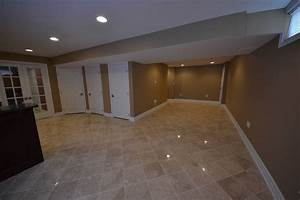 ceramic tile for basement floor home design With 3 basement flooring options best ideas basement