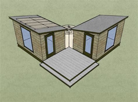 two sheds two sustainable sheds tiny house design