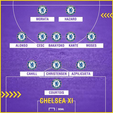 Leicester City Team Line Up
