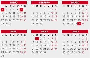Calendario 2018 con Feriados de España Calendario 2018