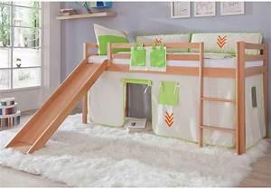 Lit Mezzanine Pour Enfant : enfant lit mezzanine ~ Teatrodelosmanantiales.com Idées de Décoration