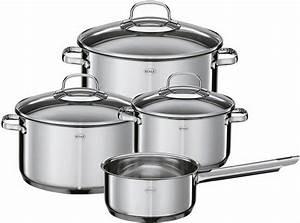 Griffe Für Kochtöpfe : r sle topf set gourmet 7 tlg edelstahl induktion ~ Michelbontemps.com Haus und Dekorationen