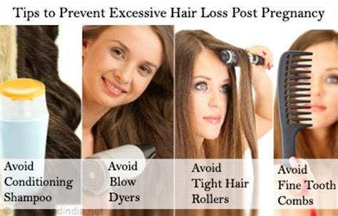 Excessive Hair Shedding After Pregnancy by Hair Care Post Pregnancy Tips