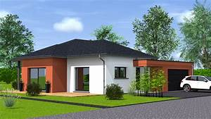 Maison 120m2 Plain Pied : construction maison de plain pied maisons begi ~ Melissatoandfro.com Idées de Décoration