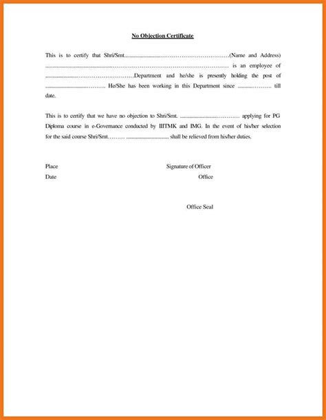objection letter sample format moutemplate