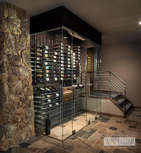 contemporary modern design innovative wine cellar designs