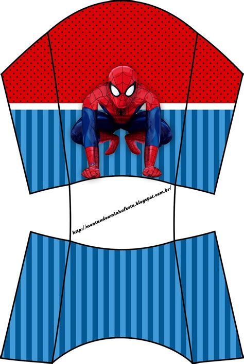 spiderman party  printable boxes   fiesta