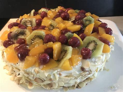 cuisine am ag sahne obst torte cuisine mag