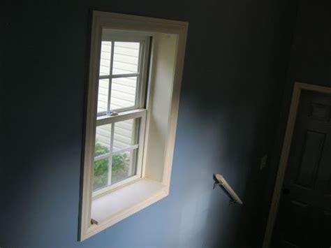 Diy Window Sill by Diy Framed Window Window Sill If I Had A Miter Saw I