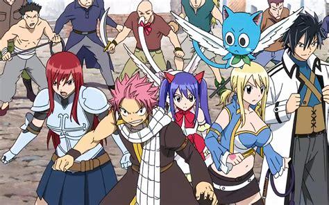 personajes de fairy tail  fondos de pantalla