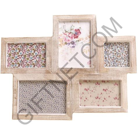 shabby chic collage photo frame new vintage style photo frame multi picture 5 collage frames shabby chic gift ebay