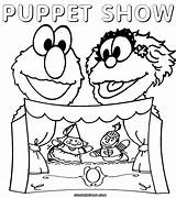 Theater Coloring Puppet Pages Puppets Pet Popular Template Colorings Pup Worlds sketch template