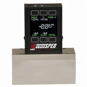 Alicat Whisper Series Mass Flow Meter For Low Pressure