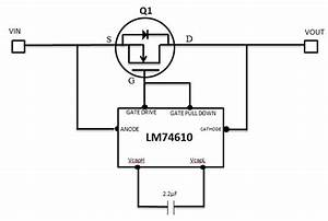 Can I Use Sm74611 Smart Bypass Diode In A Low Voltage Bridge Rectifier Configuration