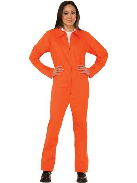 prison jumpsuits womens orange 1 prisoner inmate jumpsuit