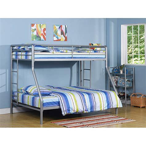 Dorel Metal Bunk Bed by Dorel Metal Silver Bunk Bed With Set Of 2