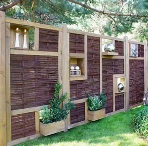 Sichtschutz Im Garten : garten sichtschutz ideen gabionen pflanzen holz co ~ A.2002-acura-tl-radio.info Haus und Dekorationen