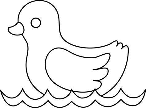 rubber duck clipart black and white duck clipart black and white clipart panda free