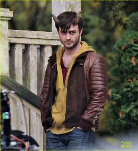Full Sized Photo of daniel radcliffe horns open up ...