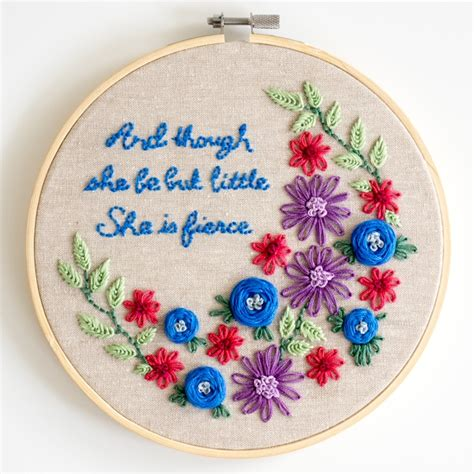 flower embroidery patterns cutesy crafts