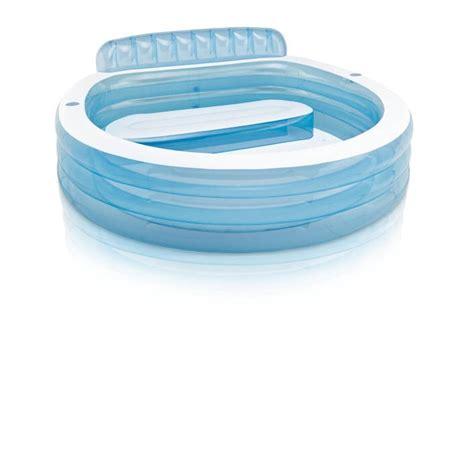 piscine gonflable avec siege piscine gonflable avec banc intex