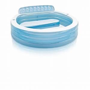 Piscine Gonflable Avec Pompe : piscine gonflable avec banc intex ~ Dailycaller-alerts.com Idées de Décoration